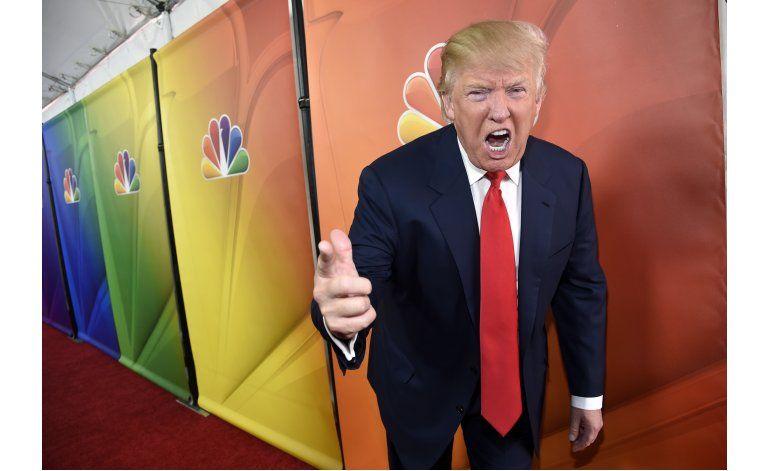 La imagen de Trump en TV no correspondió con la realidad