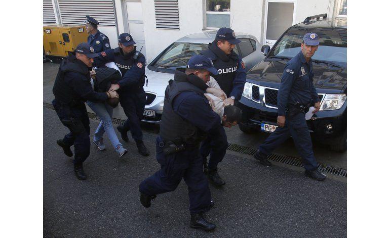 Montenegro arresta a 20 en tensa jornada electoral