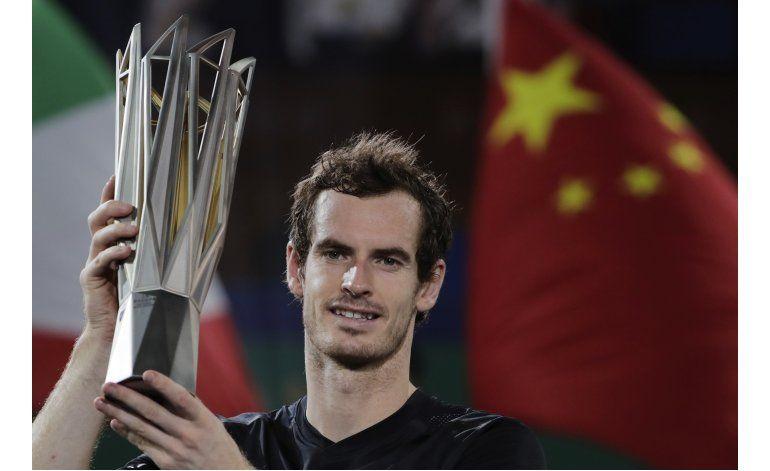 Murray gana Masters de Shanghai