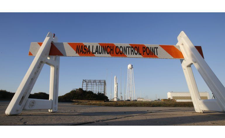 Cable retrasa lanzamiento de cohete a la estación espacial