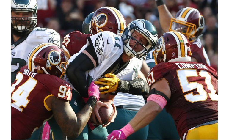 Washington pone en evidencia a la defensa de Eagles