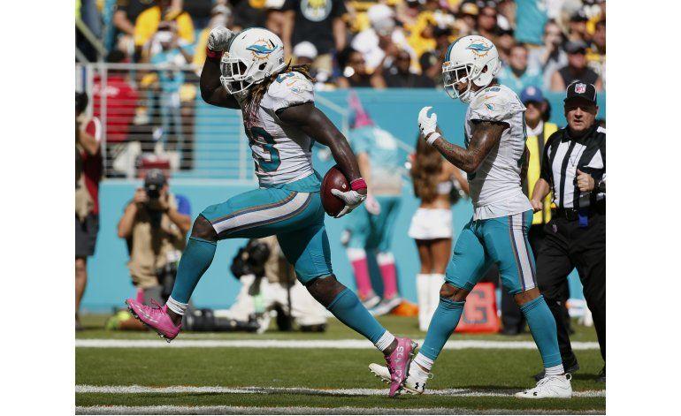 Dolphins frenan al Big Ben y sorprenden a Steelers