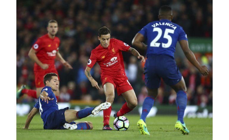 United y Liverpool firman un 0-0 en la Premier