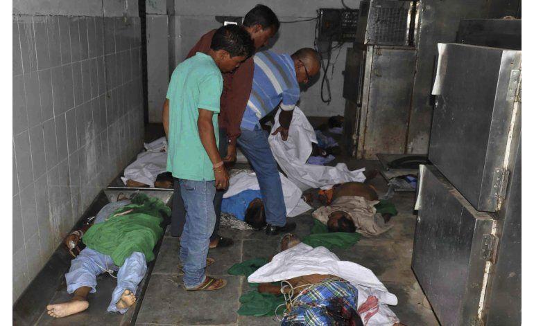 Incendio en hospital de India dejan al menos 23 muertos