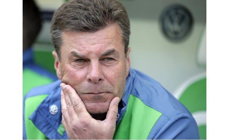 Wolfsburgo despide al DT Dieter Hecking