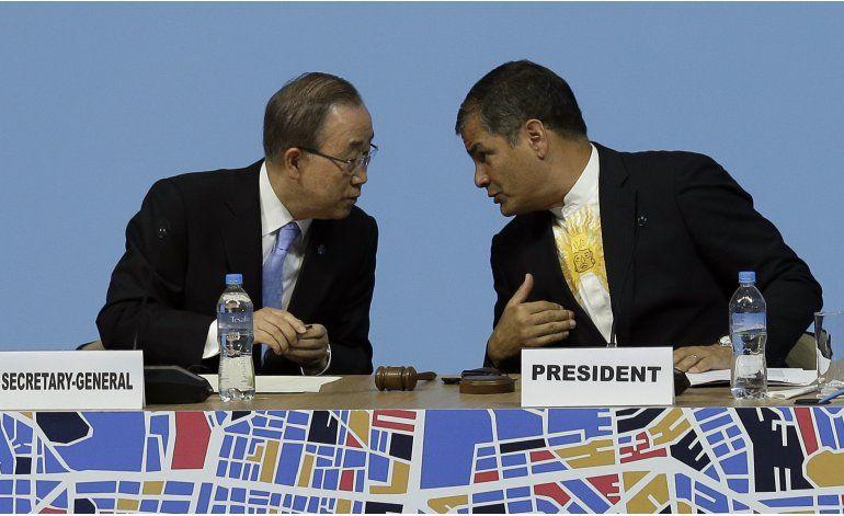 Se inaugura en Ecuador Conferencia Hábitat III de la ONU