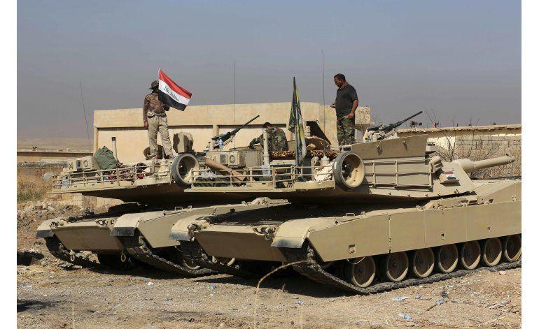 Fuerzas iraquíes detienen su avance hacia Mosul