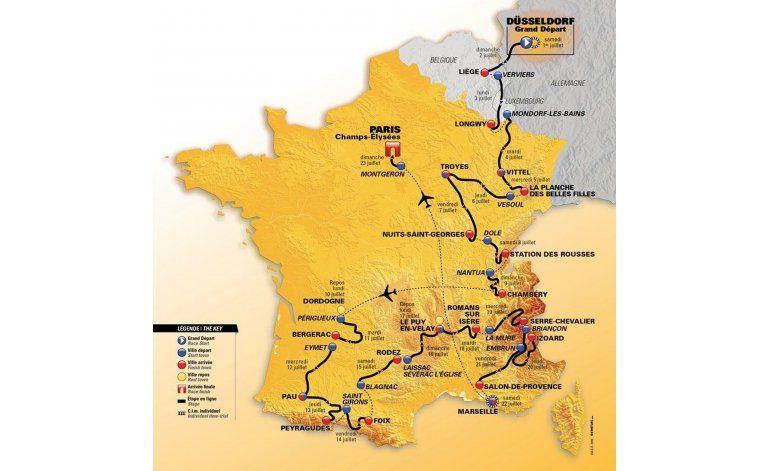 El Tour 2017 escalará todas las montañas de Francia
