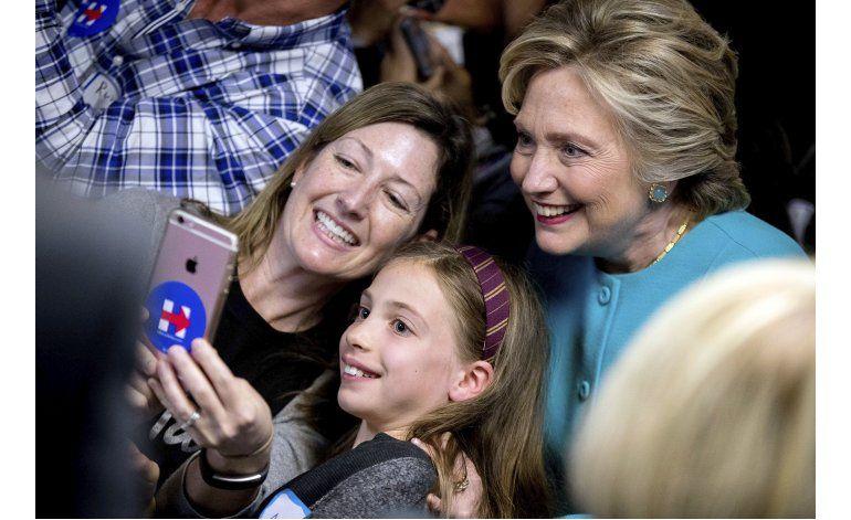 Sondeo entre alumnos dan a Clinton como ganadora