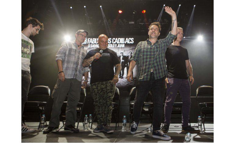 Los Fabulosos Cadillacs crean música en familia