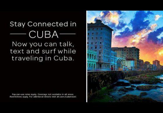 Gigante de la telefonía de EEUU, AT&T, ya está en Cuba