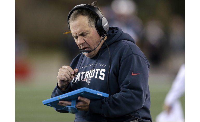 Belichick: estoy harto con las tabletas en la NFL