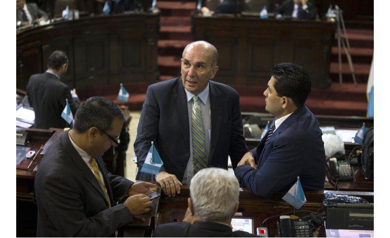 Presidente del Congreso de Guatemala podría perder inmunidad