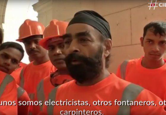 Cuba justifica contratación de obreros indios porque rinden más que los cubanos