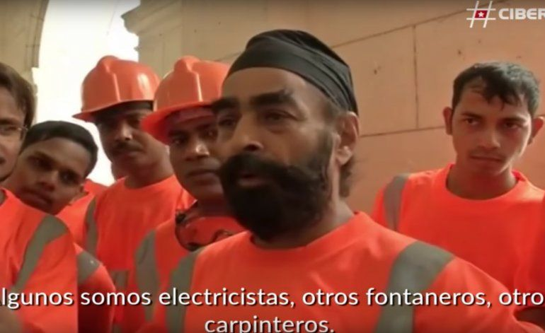 La apuesta de Castro: más obreros extranjeros