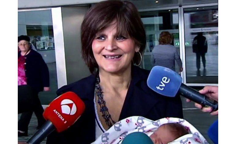 España: Mujer de 62 años da a luz a su tercer hijo