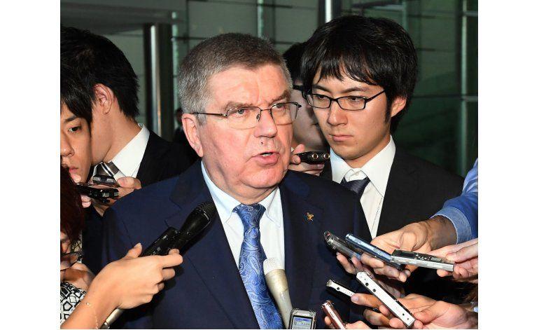 Bach propone eventos olímpicos en Fukushima