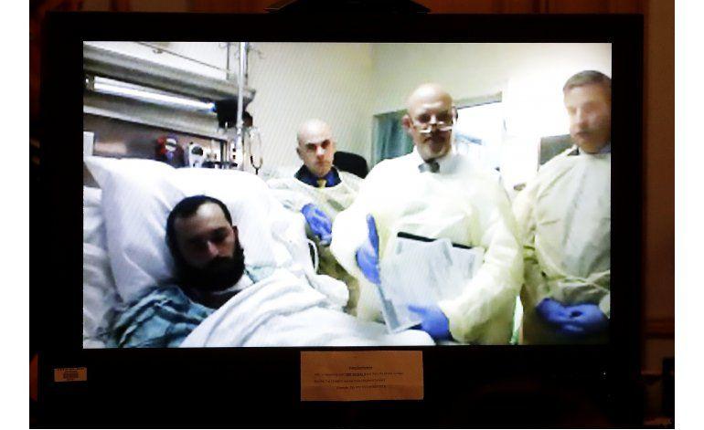 EEUU: Acusado de detonar bombas es trasferido a prisión