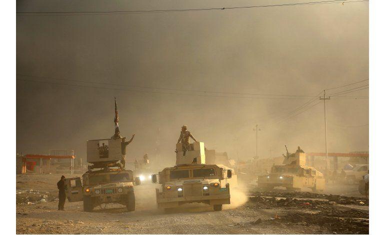 Fuerzas especiales iraquíes se suman a ofensiva en Mosul