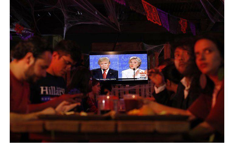Mexicanos siguen el último debate entre candidatos de EEUU
