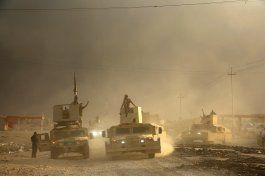 fuerzas especiales iraquies se suman a ofensiva en mosul