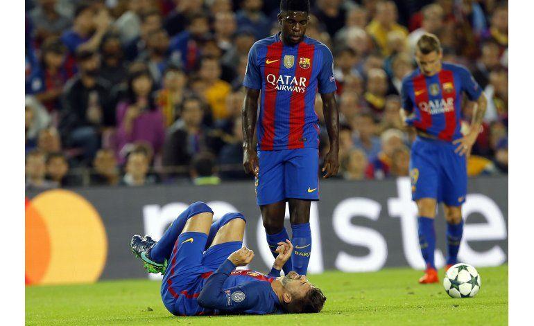 Piqué y Alba, bajas en el Barsa tras partido contra el City