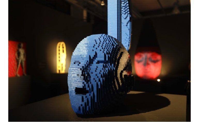 Exposición de esculturas hechas con Lego llega a Milán