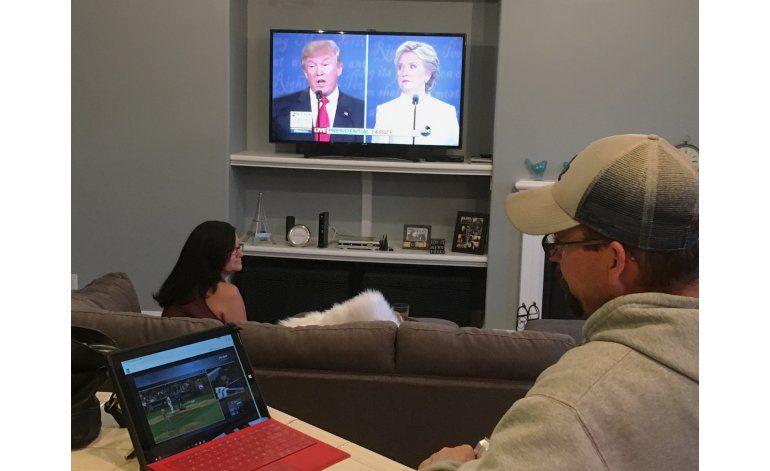 Trump domina la discusión en redes sociales