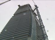 autoridades federales iniciaron hoy la investigacion del accidente de un edificio den la zona de brickell
