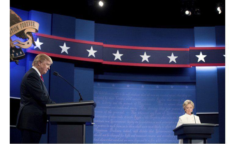 Debate final fue el tercero más visto en la historia de EEUU