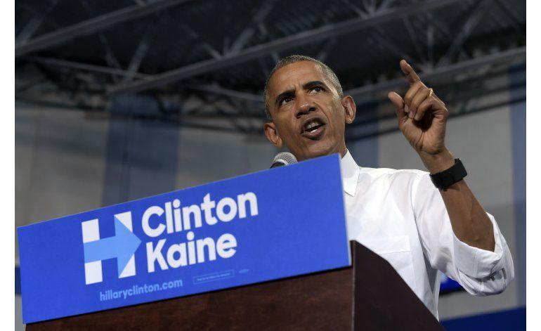 Obama: Trump, peligroso por insinuar que no aceptará derrota