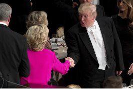 trump dice que aceptaria un resultado electoral claro