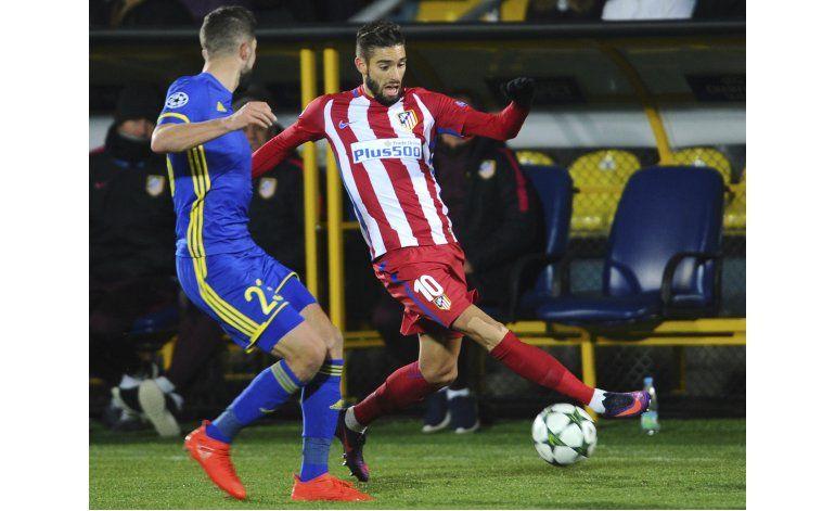 Atlético extiende contrato de Carrasco hasta 2022