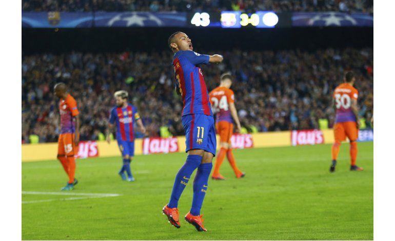 Neymar renueva contrato con el Barsa hasta 2021