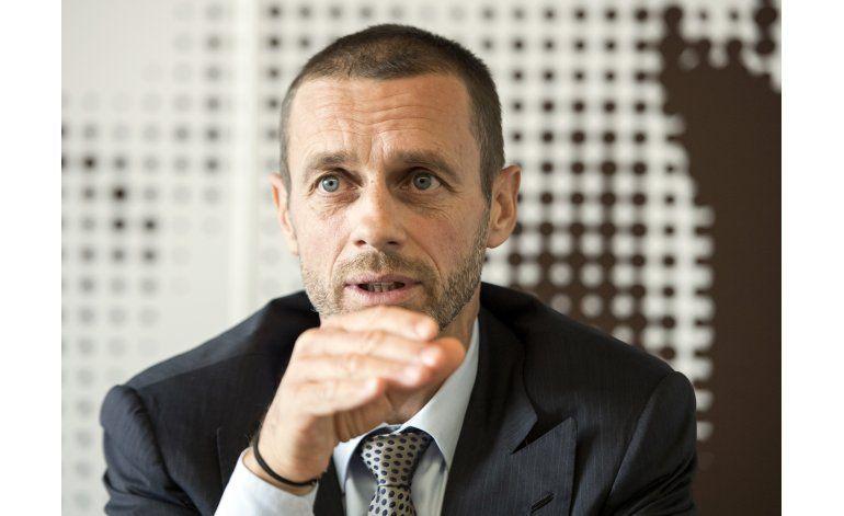 Líder de la UEFA promete proteger ligas nacionales