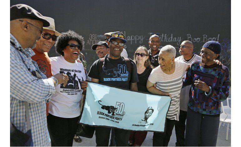 En 50mo aniversario, Panteras Negras aún ven opresión