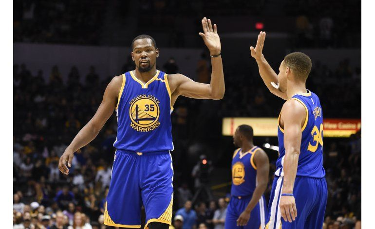 Los Warriors vuelven a ser los amos del Oeste en la NBA