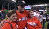 La madre de José Fernández: Gracias por querer a mi hijo