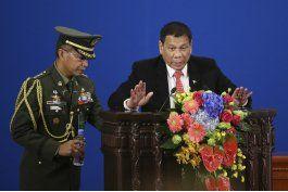 presidente filipino descarta romper vinculos con eeuu