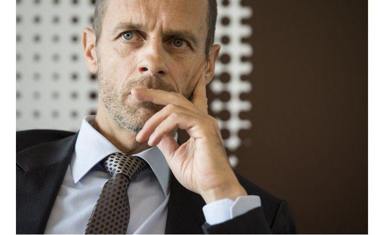 UEFA: Ceferin habla de su retos y se defiende de críticas