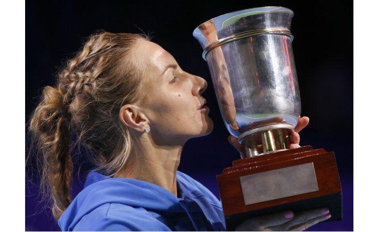 Kuznetsova gana Copa Kremlin y se clasifica a Copa WTA