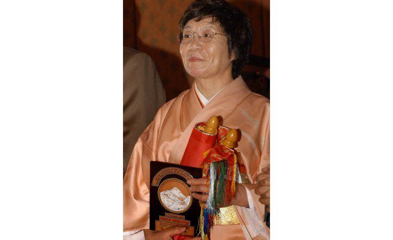 Falleció Junko Tabei, la primera mujer que escaló el Everest