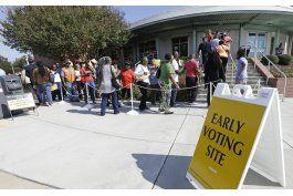 votaciones tempranas muestran ventajas de clinton y trump