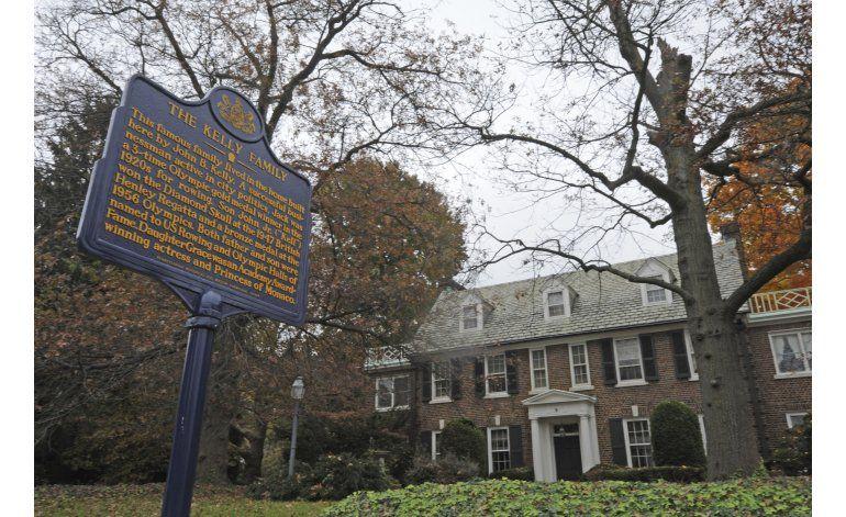 Príncipe compra casa en Filadelfia de su madre Grace Kelly