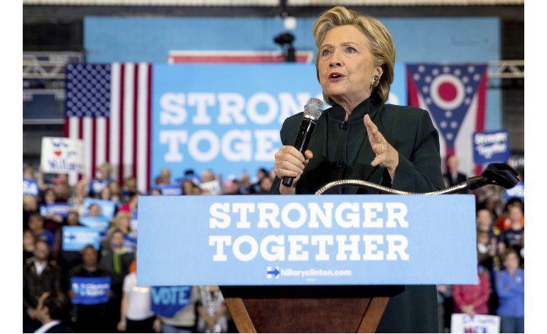 LO ÚLTIMO: Cantante Kate Perry pide votar por Clinton