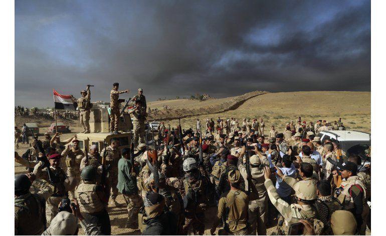 Fuerzas iraquíes y curdas lanzan ofensiva cerca de Mosul