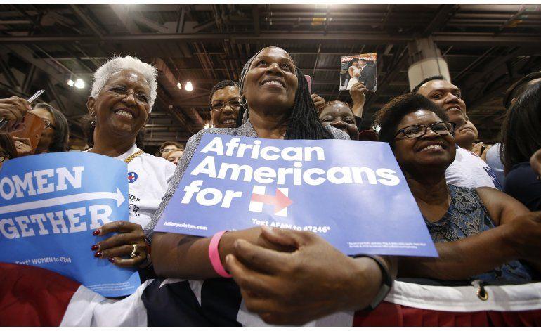 EEUU: El estado actual de la campaña electoral según AP