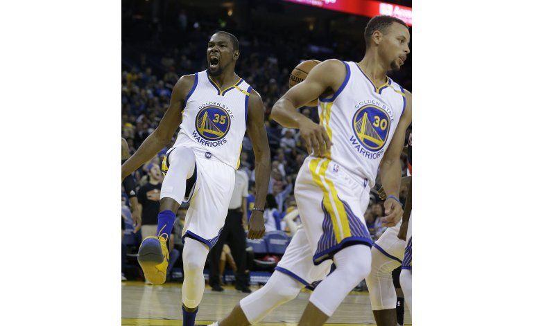 Warriors esperan ser más poderosos con Durant
