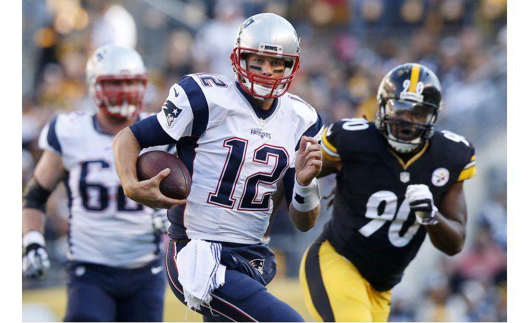 Patriots y Brady amansan 27-16 a Steelers