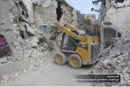 tropas sirias toman punto elevado en la ciudad de aleppo
